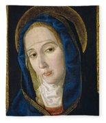 Our Lady Of Sorrows Fleece Blanket
