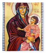 Our Lady Of The Snows  Fleece Blanket