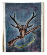 Our Pride Their Extinction Fleece Blanket