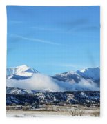 Ouray And Chipeta Fleece Blanket