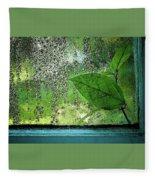 Out My Window Fleece Blanket