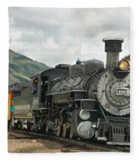 Out Of Here Fleece Blanket
