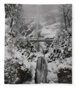 Out Of The Fog Fleece Blanket