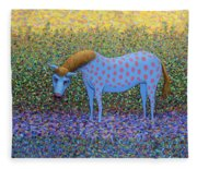 Out Of The Pasture Fleece Blanket