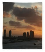Out To Sea Fleece Blanket