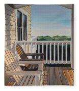 Outer Banks Morning Sun Fleece Blanket