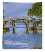 Outer Banks Whalehead Club Bridge  Fleece Blanket