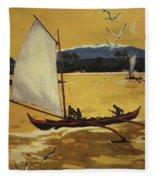 Outrigger Off Shore Fleece Blanket