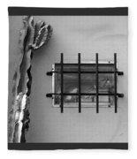 Outsiders - Cactus By The Window Fleece Blanket
