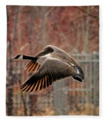 Outta Here  Fleece Blanket