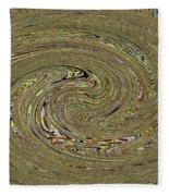 Oval Abstract Panel 6150-5 Fleece Blanket