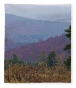 Over And Over And Over Fleece Blanket