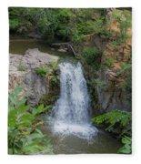 Over The Falls Fleece Blanket