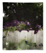 Over The Fence Fleece Blanket