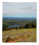 Over The Horizon Fleece Blanket
