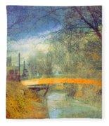 Overgrown Fleece Blanket