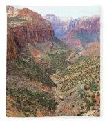 Overlook Canyon Fleece Blanket