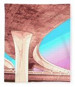 Overpass Two Fleece Blanket