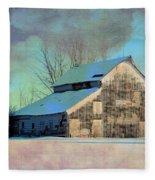 Owasa Barn 3 Fleece Blanket