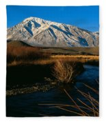Owens River Valley Bishop Ca Fleece Blanket