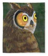 Owl 2009 Fleece Blanket