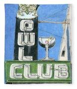 Owl Club Fleece Blanket