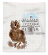 Owl 1 Fleece Blanket