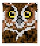 Owl Fleece Blanket