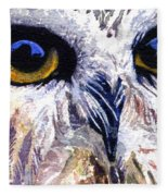 Owl Fleece Blanket
