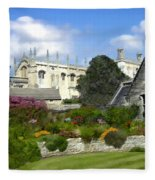 Oxford England Fleece Blanket