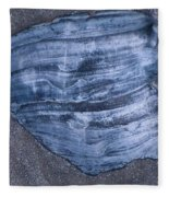 Oyster Shell Fleece Blanket