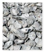 Oyster Shells On Cumberland Island Fleece Blanket