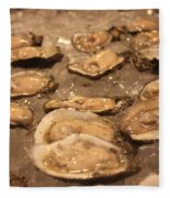 Oysters Fleece Blanket