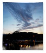 Ozark Sunrise 6 Fleece Blanket