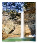 Ozone Falls Focus Fleece Blanket