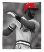 Ozzie Smith Fleece Blanket