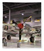 P-38 Lighting Marge Fleece Blanket