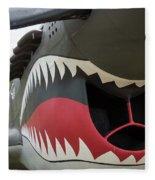 P-40 Warhawk - 2 Fleece Blanket