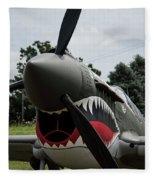 P - 40 Warhawk - 5 Fleece Blanket
