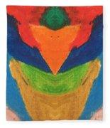 Woman Wisdom Fleece Blanket