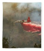 P2v In Ferguson Canyon Fleece Blanket