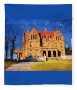 Pabst Mansion Fleece Blanket