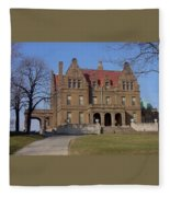 Pabst Mansion Photo Fleece Blanket