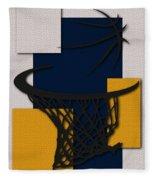 Pacers Hoop Fleece Blanket