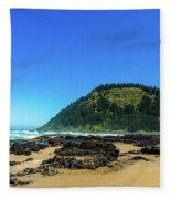 Pacific Beach Fleece Blanket