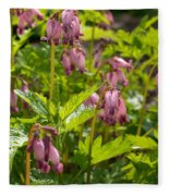 Pacific Bleeding Heart 2  Fleece Blanket