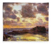 Pacific Clouds Fleece Blanket