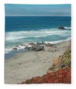 Pacific Coast View IIi Fleece Blanket