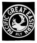 Pacific Great Eastern Fleece Blanket