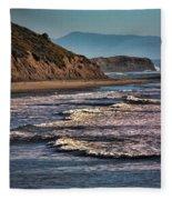 Pacific Ocean I Fleece Blanket